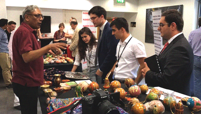 Cultural exhibition on Kashmir held in Brussels