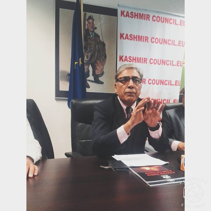 """Kashmir Council EU Chairman declines Farooq Abdullah‬'s claim on Kashmir """