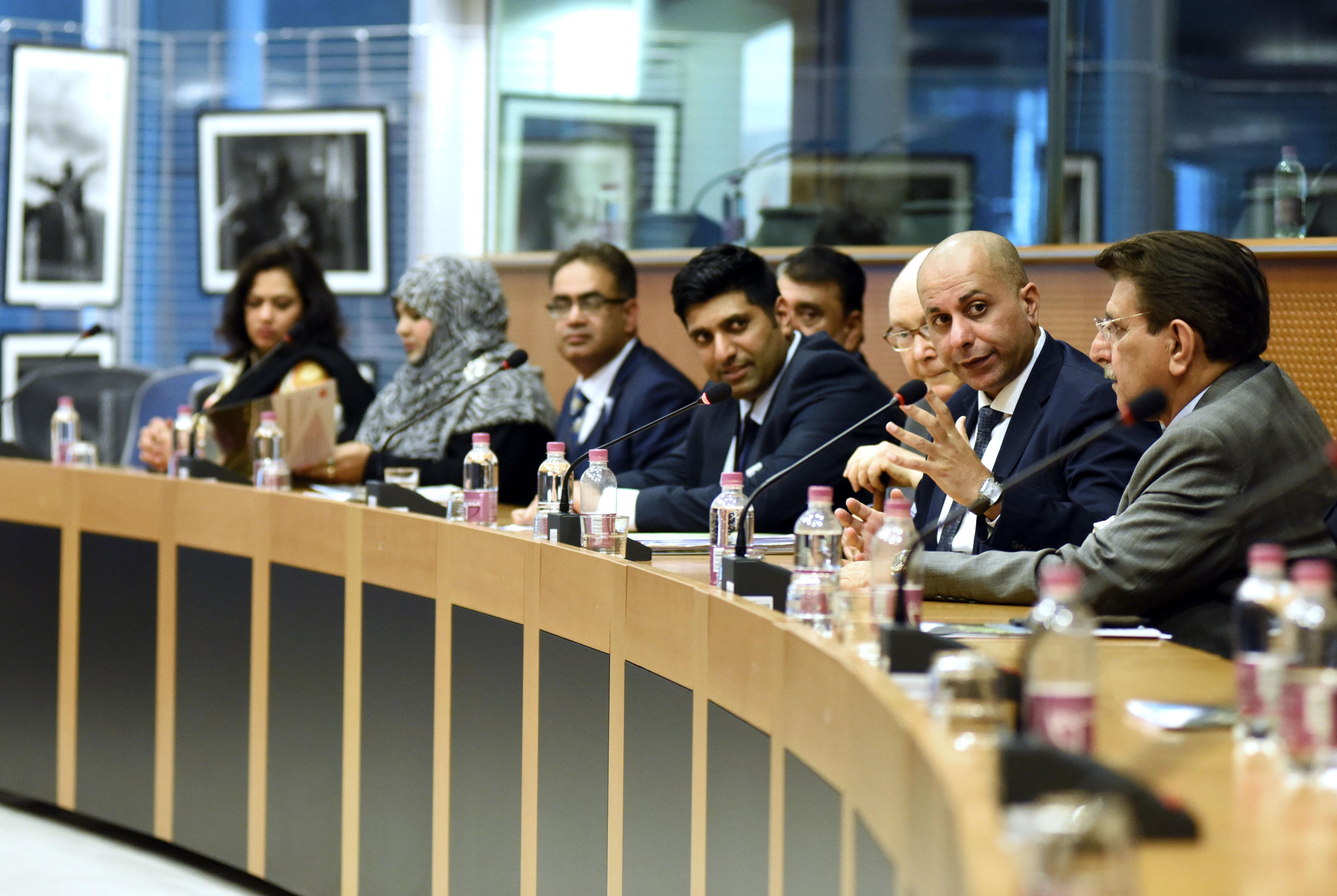 EU Trade Chief seeks Parliament Kashmir human rights intervention