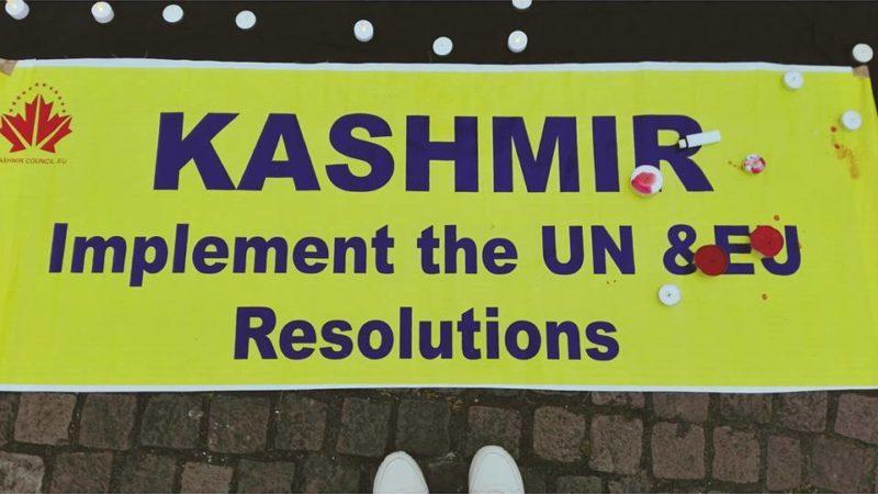 Candlelight Vigil for Kashmir  I July 2016
